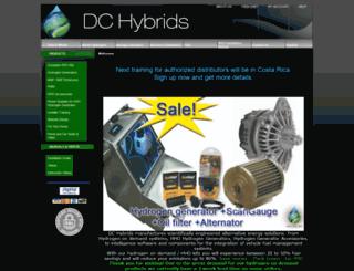 dc-hybrids.com screenshot