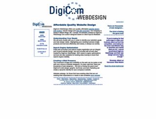 dc-webdesign.com screenshot