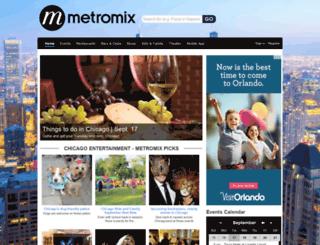 dc.metromix.com screenshot