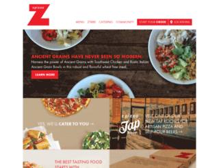 dc.zpizza.com screenshot