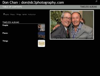 dc3.phanfare.com screenshot