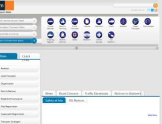 dca.gov.mt screenshot