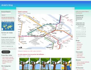 dcala.wordpress.com screenshot