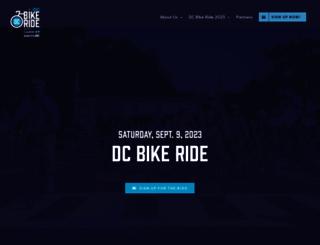 dcbikeride.com screenshot
