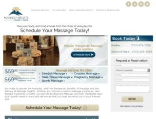 dcblog.massageheights.com screenshot