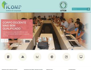 dcc.ufam.edu.br screenshot