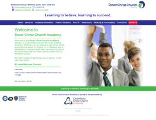 dccacademy.org.uk screenshot