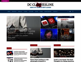 dcclothesline.com screenshot