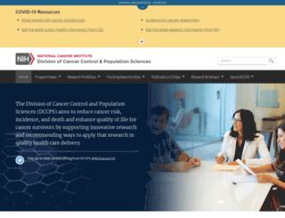 dccps.cancer.gov screenshot