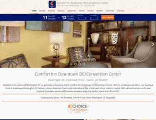 dcdowntownhotel.com screenshot