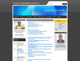 dcebhyderabad.webnode.in screenshot
