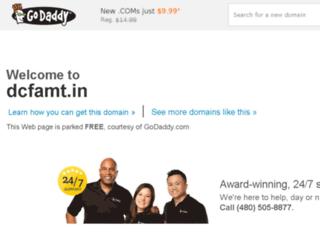 dcfamt.in screenshot