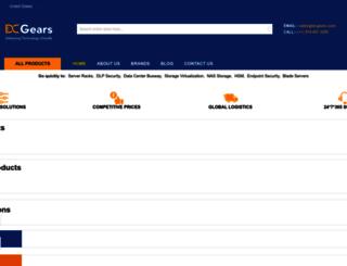 dcgears.com screenshot