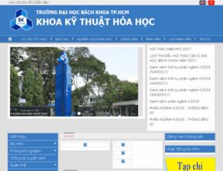 dch.hcmut.edu.vn screenshot