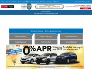 dchacademyhonda.com screenshot