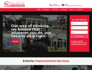 dchconstructioninc.com screenshot