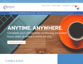 dchours.com screenshot