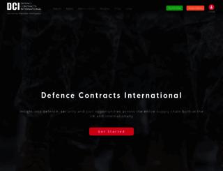 dcicontracts.com screenshot