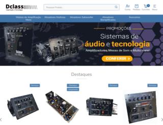 dclassaudio.com.br screenshot