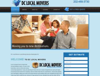 dclocalmovers.com screenshot