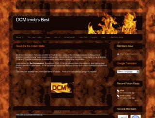 dcmcrew.webs.com screenshot