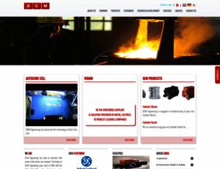 dcmengg.com screenshot