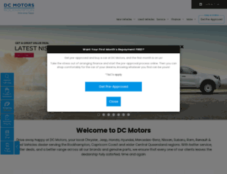 dcmotors.com.au screenshot