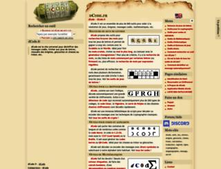 dcode.fr screenshot