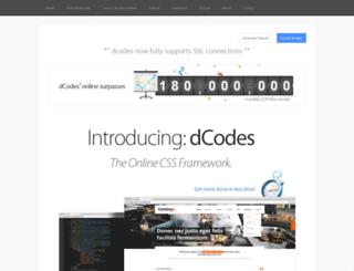 dcodes.net screenshot