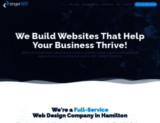 dcp.zingerwebdesign.net screenshot
