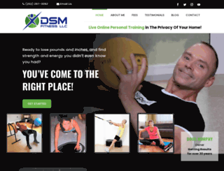dcpersonaltrainer.com screenshot