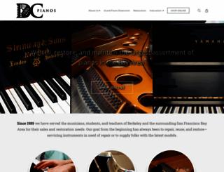 dcpianos.com screenshot