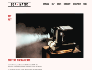 dcpomatic.com screenshot