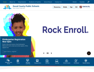 dcps.duvalschools.org screenshot