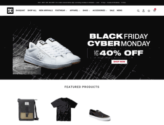 dcshoes.com.ph screenshot