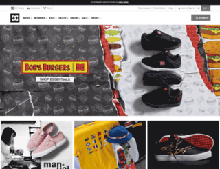 dcshoes.com.sg screenshot