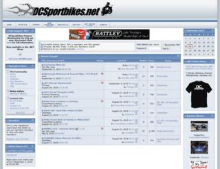 dcsportbikes.net screenshot