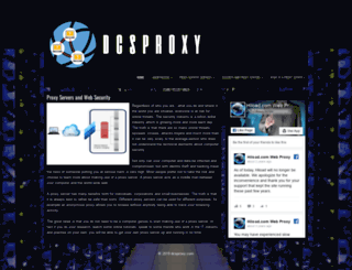 dcsproxy.com screenshot