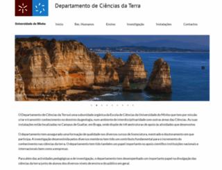 dct.uminho.pt screenshot