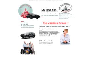 dctowncar.com screenshot
