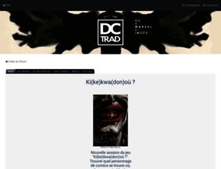 dctrad.fr screenshot