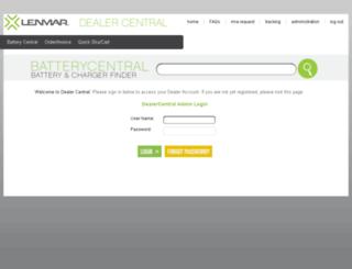 dcus.lenmar.com screenshot