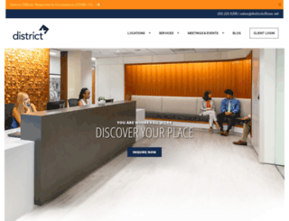 dcworkspaces.com screenshot