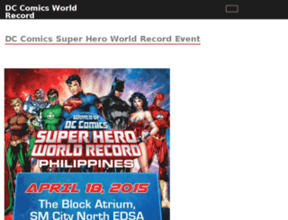 dcworldrecord.worldofdcph.com screenshot