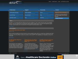 dd-wrt.com screenshot