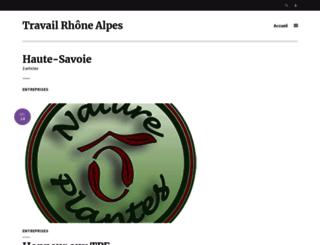 dd74.travail-ra.fr screenshot