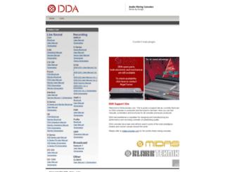 ddaconsoles.com screenshot