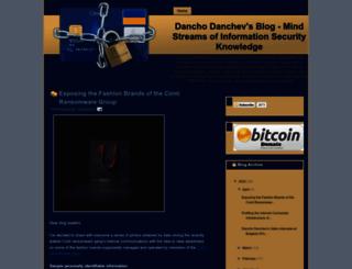 ddanchev.blogspot.com screenshot