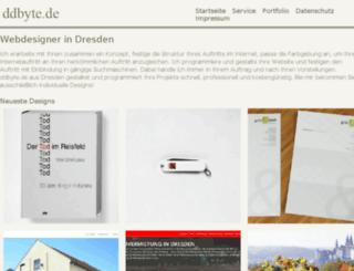 ddbyte.de screenshot
