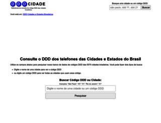 dddcidade.com.br screenshot